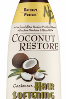 Nature's Protein Coconut Restore Creme Hair Softening Tonic