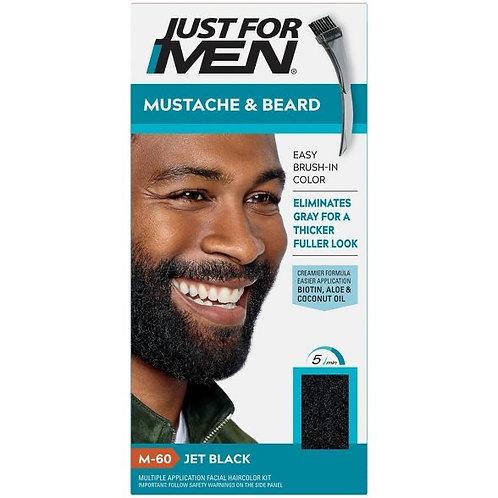 Just for Men Mustache & Beard Brush on Color Gel