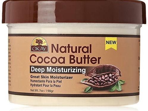 OKAY Natural Coco Butter Deep Skin Moisturizer