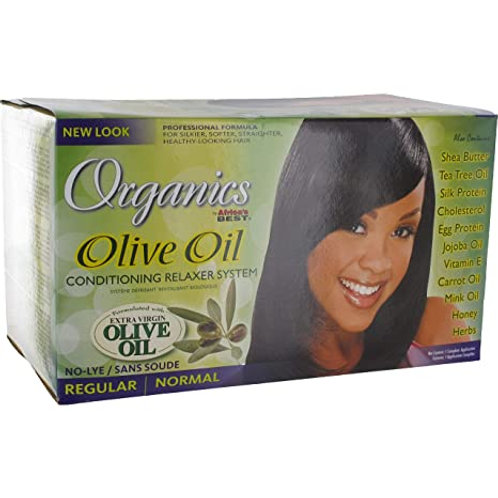 Organics Olive Oil Conditioning Relaxer System