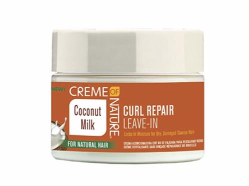 Creme of Nature Coconut Milk Detangling & Conditioning Curl Repair