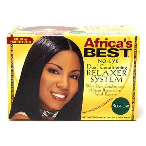 Africa's Best Dual Conditioning No-Lye Relaxer