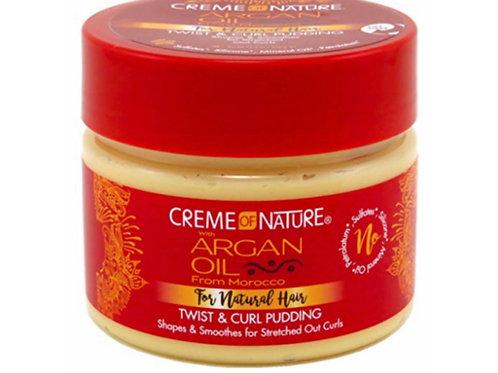 Creme of Nature Argan Oil/Morocco Twist & Curl Pudding