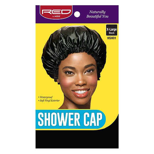 Red by Kiss Shower Cap