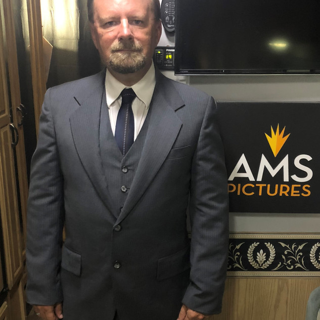 2018-09-25, in the trailer on the set of