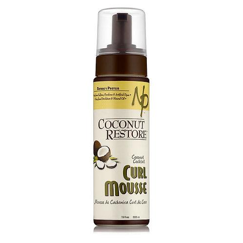 Nature Protein Coconut Restore Creme Curl Mousse