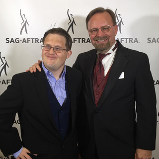 2018-01-21, SAG Awards watch party, with