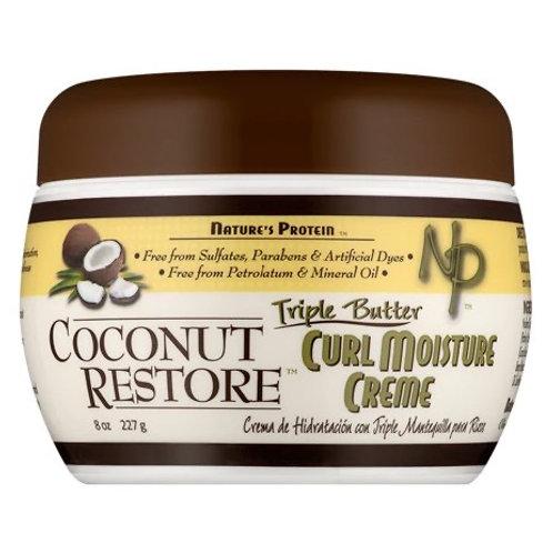 Nature's Protein Coconut Restore Creme Curl Moisture Creme