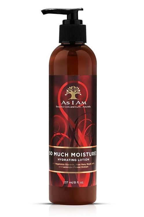As I Am So Much Moisture Hydrating Lotion