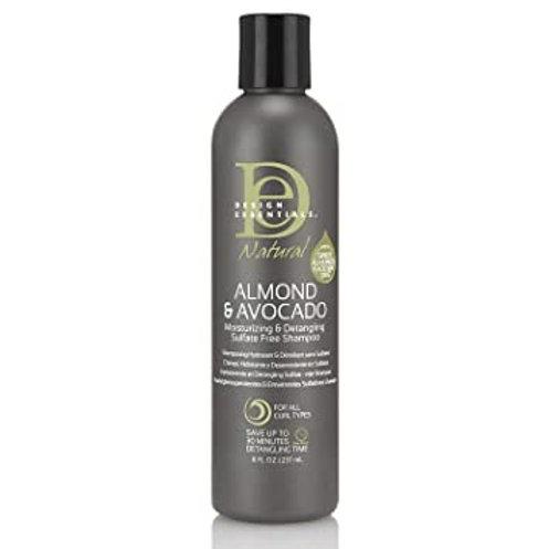 Design Essentials Almond & Avocado Sulfar/Free Shampoo