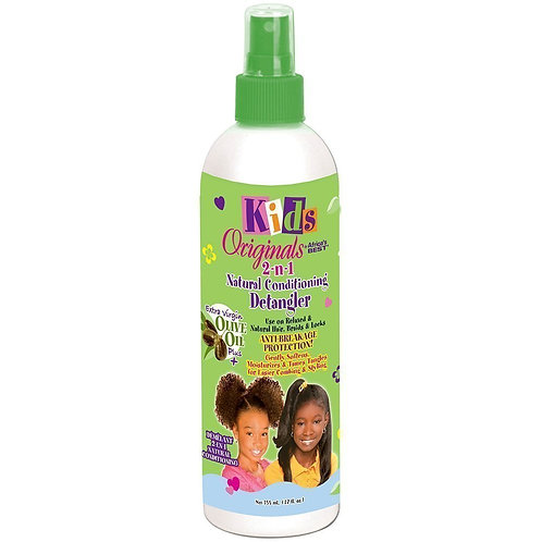Africa's Best Originals Kids Shea Butter 2-n-1 Natural Detangler