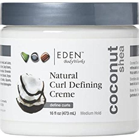 Eden Coconut  Shea Natural Curl Defining Creme
