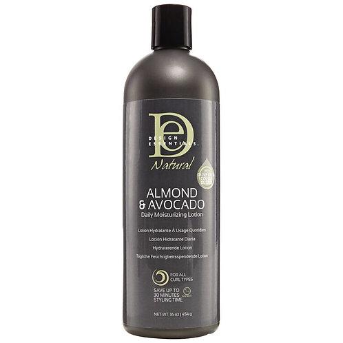 Design Essentials Almond & Avocado Daily Moisturing Lotion