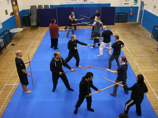 Jo staff practice
