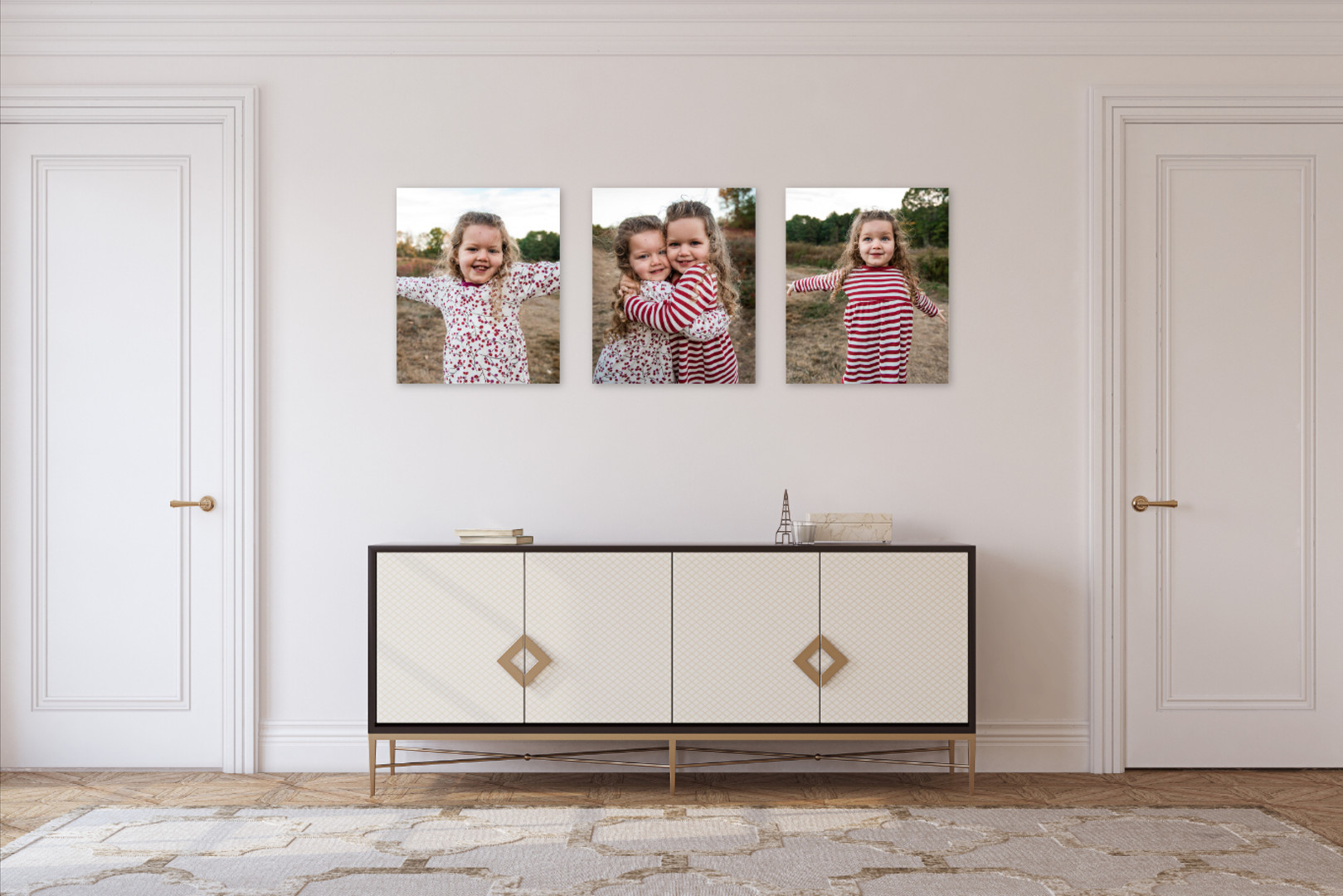 canvas wall grouping