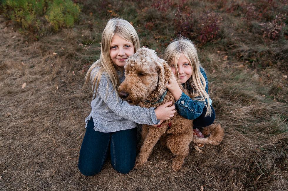 NH family photographer fall session lifestyle wagon hill farm durham