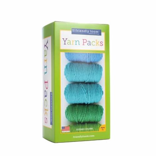 PegLoom and LapLoom Yarn Packs - Ocean Colourway