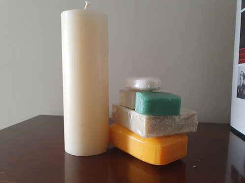 Candle & Wax Making - Using Natural Dyes