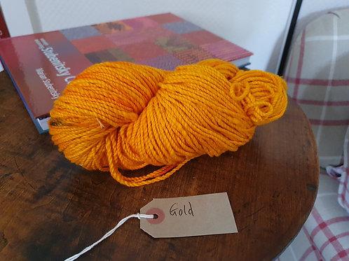 Organic Chromatic Cotton Yarns - Gold