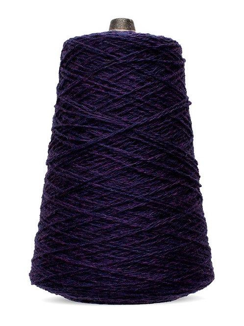 Harrisville Shetland Wool Yarn Cones -Aubergine