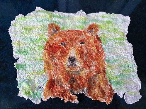 Brown Bear - By Paper et Paint