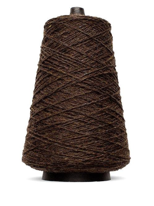 Harrisville Shetland Wool Yarn Cones - Walnut