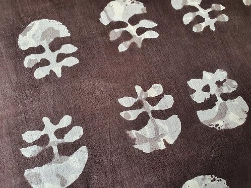 Cnidaria - natural cotton fabric - price/metre