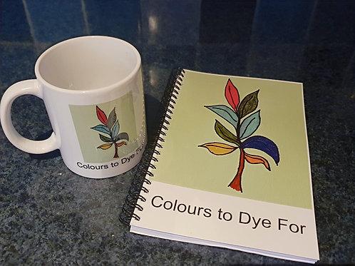 Natural Dyers Notebook with 2021 Calendar & Mug Set