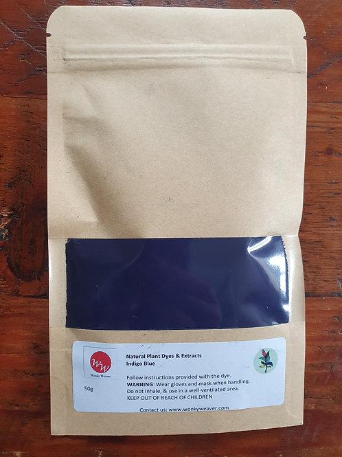 Indigo Natural Plant Dye Powder (Indigo Blue)