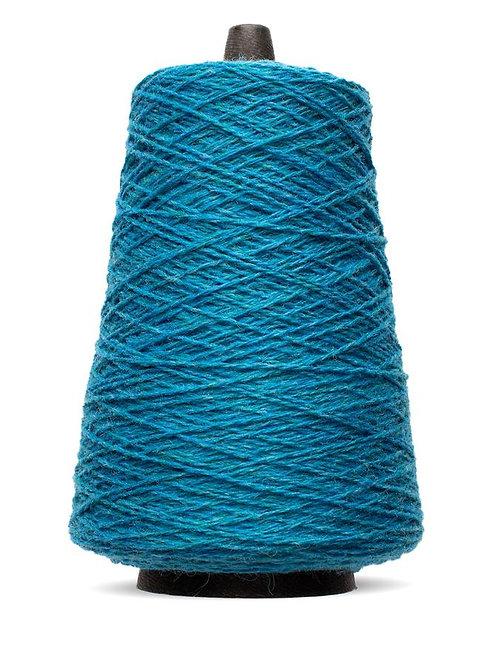 Harrisville Shetland Wool Yarn Cones -Aegean