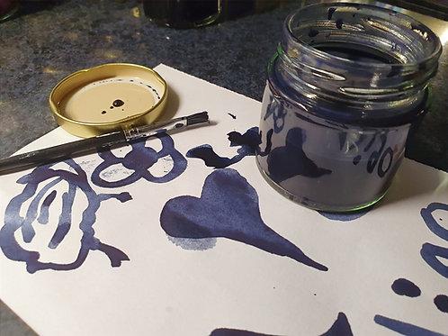 Natural Indigo Ink Making Kit - Beautiful Blue
