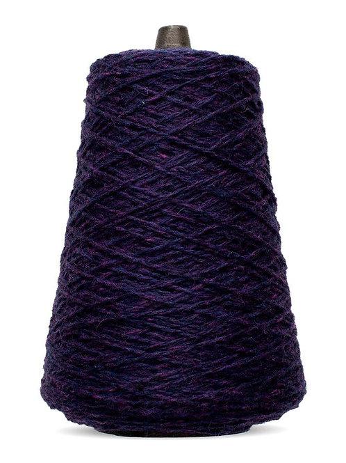 Harrisville Highland Wool Yarn Cones - Aubergine