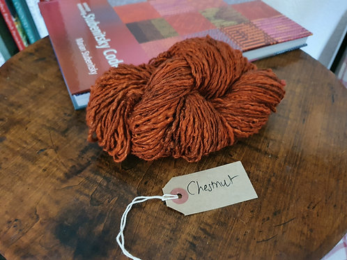 Chromatic Cotton Yarns - Chestnut - Organic & Luxor available
