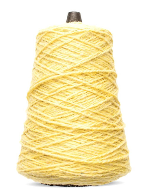 Harrisville Highland Wool Yarn Cones - Cornsilk