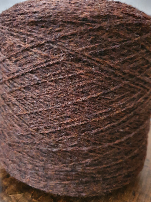 Weavers Delight Wool Yarn (xtra twist) - Chocolate
