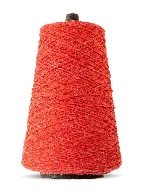 Harrisville Shetland Wool Yarn Cones -Zinnia