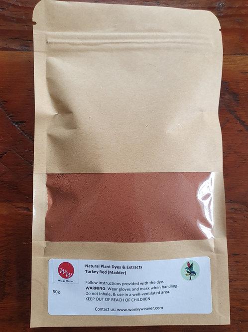 Madder Root Plant Dye Powder (Turkey Red)