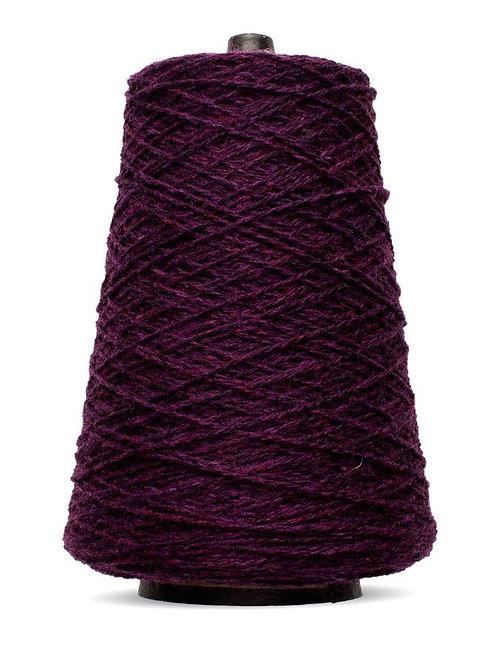 Harrisville Shetland Wool Yarn Cones - Black Cherry