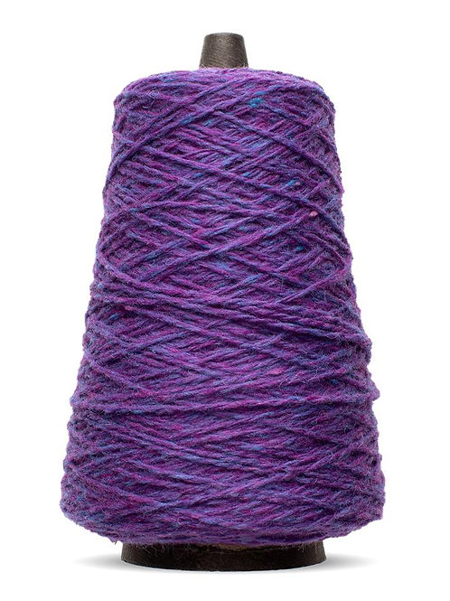 Harrisville Highland Wool Yarn Cones - Violet