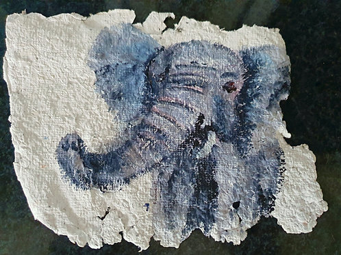 Elephant - By Paper et Paint
