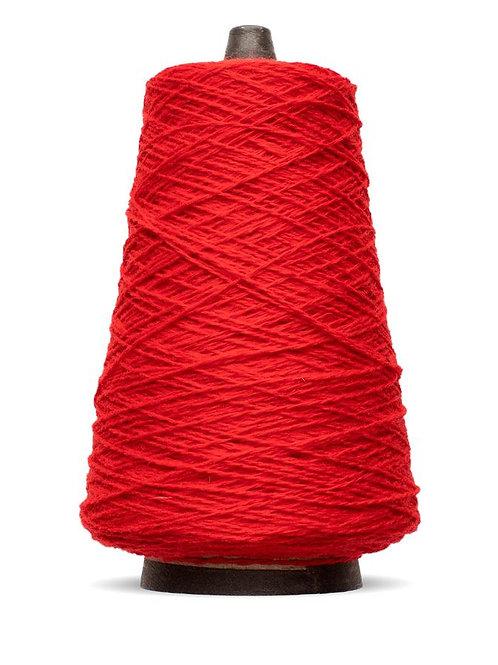 Harrisville Shetland Wool Yarn Cones -Scarlet