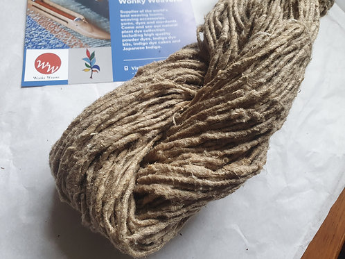Recycled Tussar, Nasse & Cotton Yarn - 100g