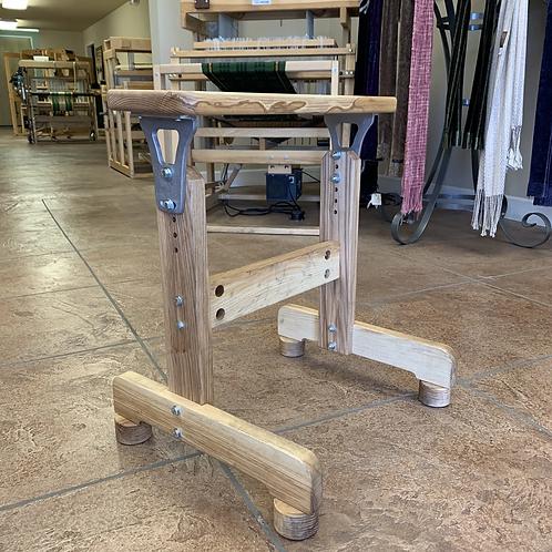 AVL Adjustable Ash Wood Loom Bench (2 sizes)