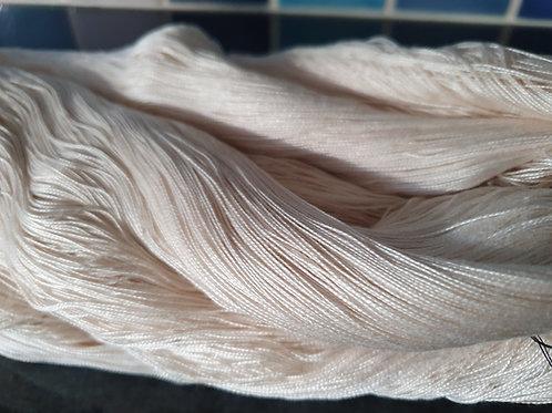 Luxor White Egyptian Perle Cotton Yarn 10/2 ne