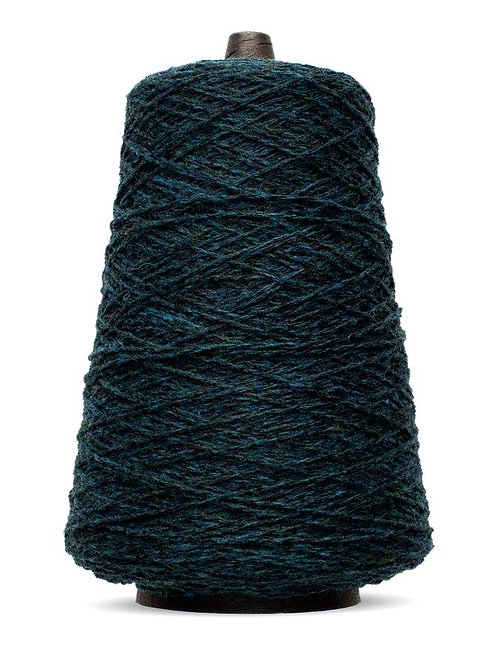 Harrisville Shetland Wool Yarn Cones -Blues & Greens
