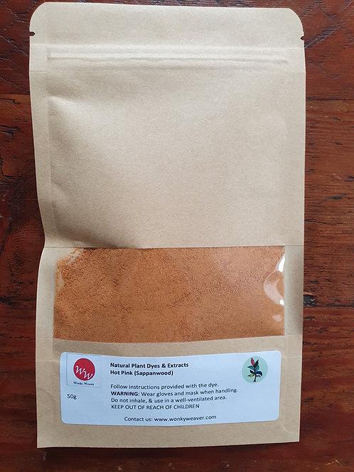 Sappanwood/Brazilwood  Natural Plant Dye Powder (Hot Pink)