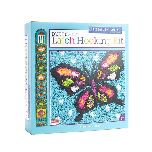Butterfly Latch Hooking Kit