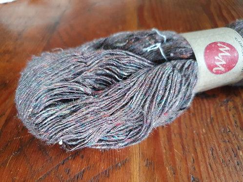 Tussar Silk & Recycled Sari Blended Yarn (Nm 5/1)  – 100g
