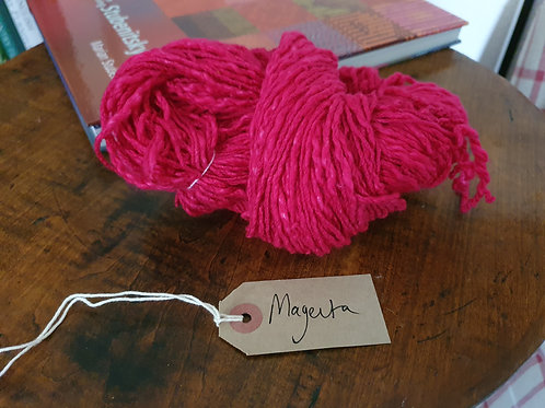 Chromatic Cotton Yarn - Magenta - Organic & Luxor Available