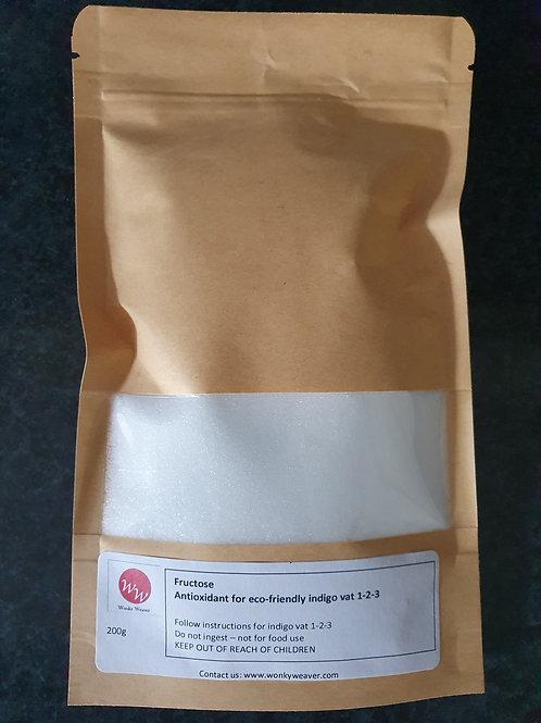 Pure Fructose - natural antioxidant in indigo dye vats - 1-2-3 method